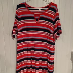 Westport dress with open arms